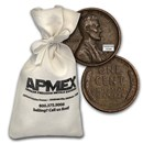 1940-1958 Wheat Cent 5,000-Count Bags