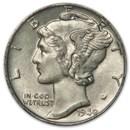 1940-D Mercury Dime XF