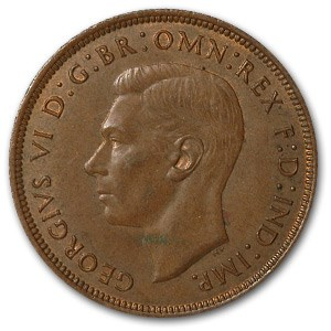 1940 Great Britain Penny XF