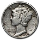 1940 Mercury Dime Good/VF