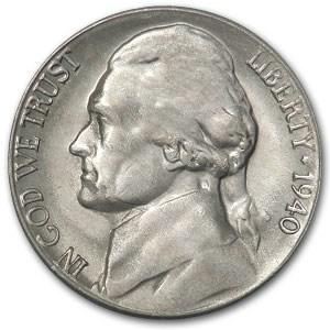 1940-S Jefferson Nickel BU