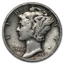 1940-S Mercury Dime Good/VF