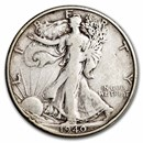 1940-S Walking Liberty Half Dollar VG/VF