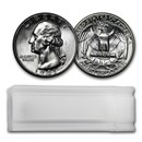 1941-D Washington Quarter 40-Coin Roll BU