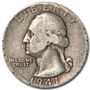 1941-D Washington Quarter Good/VF