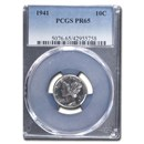 1941 Mercury Dime PR-65 PCGS