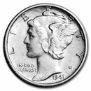1941-S Mercury Dime AU