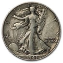 1941-S Walking Liberty Half Dollar Fine/VF