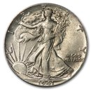 1941 Walking Liberty Half Dollar AU
