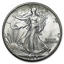 1942-D Walking Liberty Half Dollar BU