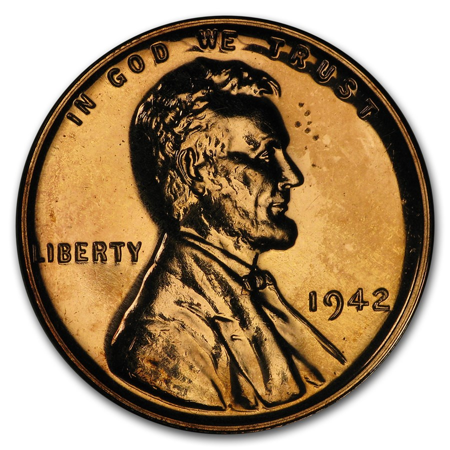 1942 Lincoln Cent Proof