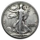 1942 Walking Liberty Half Dollar Fine/VF