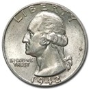 1942 Washington Quarter Good/VF