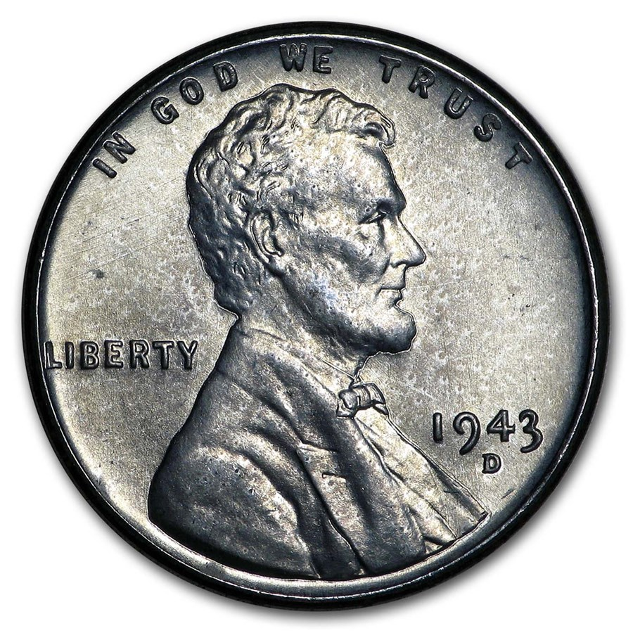 1943-D Lincoln Cent BU