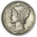 1943-D Mercury Dime BU