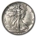 1943-D Walking Liberty Half Dollar AU