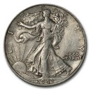 1943-D Walking Liberty Half Dollar XF