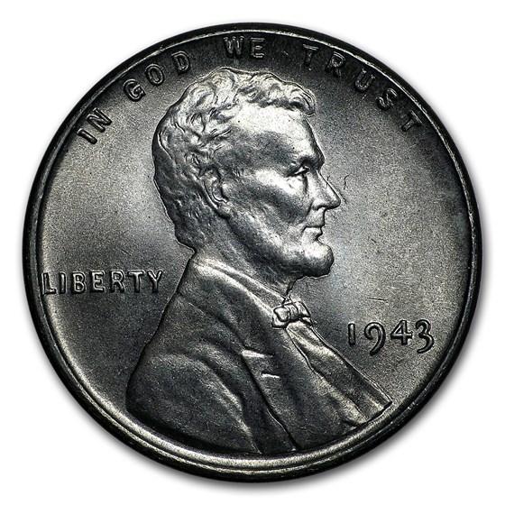1943 Lincoln Cent BU