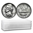 1943-P 35% Silver Wartime Jefferson Nickel Roll BU (40 ct)