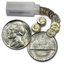 1943-S 35% Silver Wartime Jefferson Nickel Roll BU (40 ct)