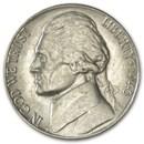 1943-S Silver Wartime Jefferson Nickel AU