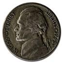 1943-S Silver Wartime Jefferson Nickel Avg Circ
