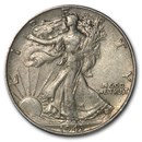 1943 Walking Liberty Half Dollar XF