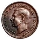 1943(p) Australia Large Penny XF