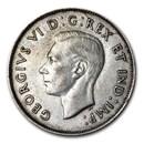 1944 Canada Silver 50 Cents George VI XF