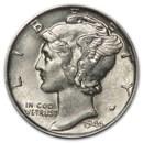 1944-D Mercury Dime XF