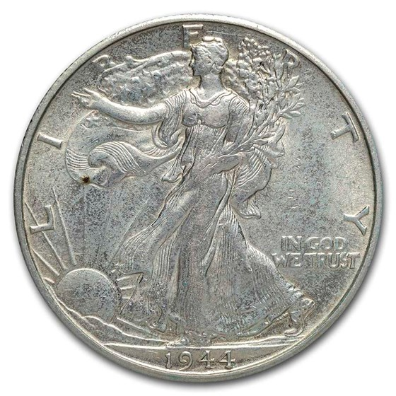 1944-D Walking Liberty Half Dollar Choice BU