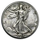 1944-D Walking Liberty Half Dollar XF
