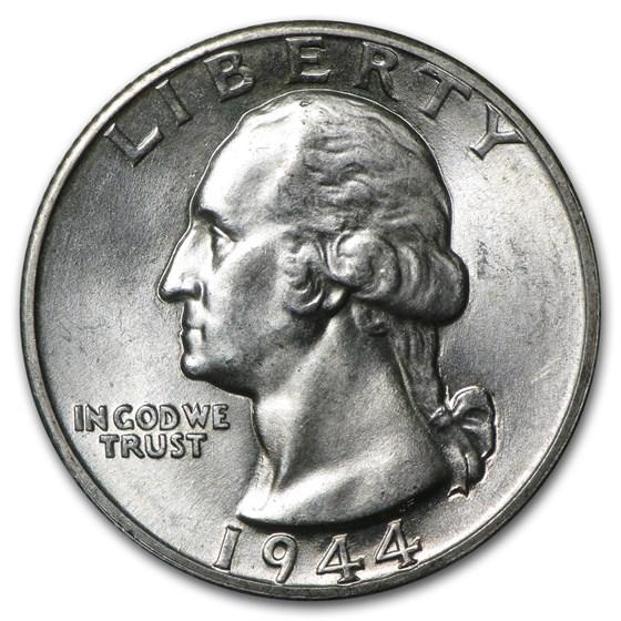 1944-D Washington Quarter BU