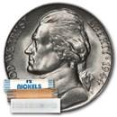 1944-S 35% Silver Wartime Jefferson Nickel Roll BU (40 ct)
