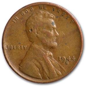 1944-S Lincoln Cent Fine+