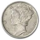 1944-S Mercury Dime AU