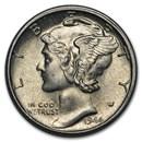 1944-S Mercury Dime BU