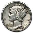 1944-S Mercury Dime Good/VF