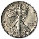 1944-S Walking Liberty Half Dollar AU