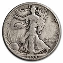 1944-S Walking Liberty Half Dollar Fine/VF
