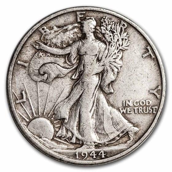 1944-S Walking Liberty Half Dollar XF