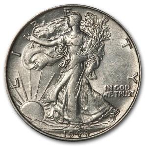 1944 Walking Liberty Half Dollar AU