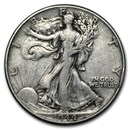 1944 Walking Liberty Half Dollar Fine/VF