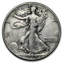 1944 Walking Liberty Half Dollar Fine/VF