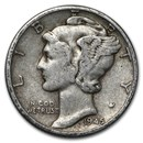 1945 Mercury Dime Good/VF