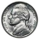 1945-P Silver Wartime Jefferson Nickel BU