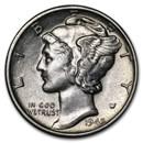 1945-S Mercury Dime AU