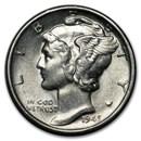 1945-S Mercury Dime BU