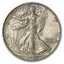 1945-S Walking Liberty Half Dollar AU