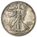 1945-S Walking Liberty Half Dollar XF